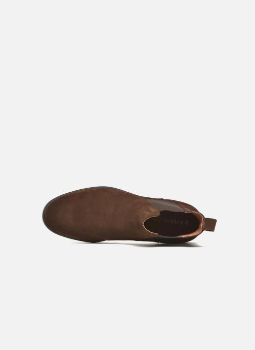 Stiefeletten & Boots Marvin&Co Ahsford braun ansicht von links