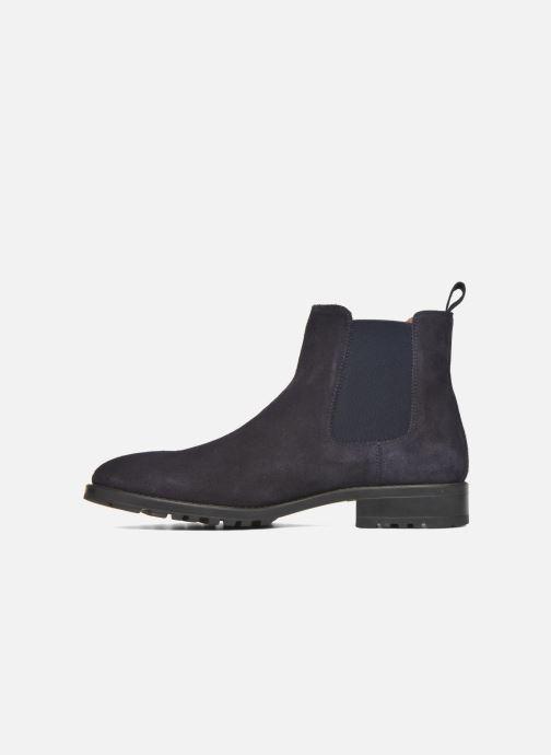 Bottines et boots Marvin&Co Ahsford Bleu vue face