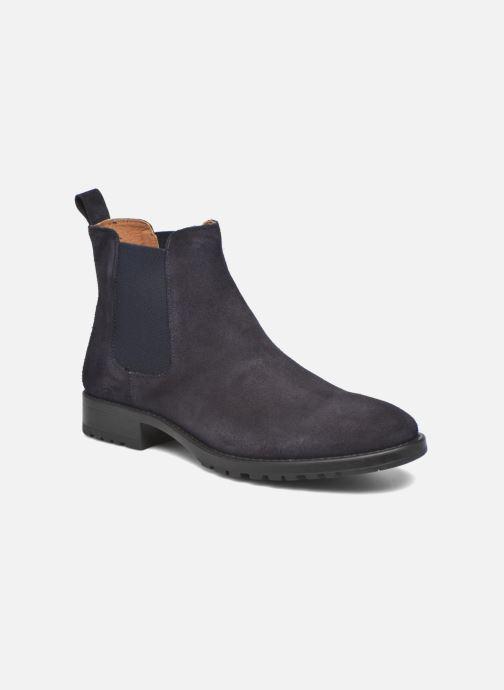 Bottines et boots Marvin&Co Ahsford Bleu vue détail/paire
