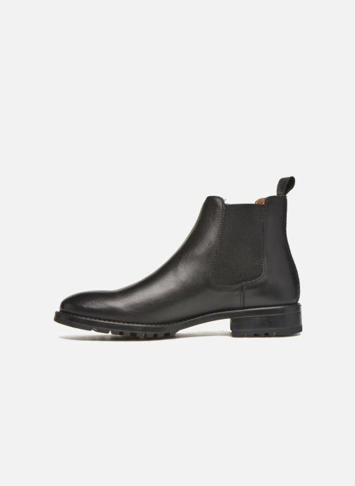Bottines et boots Marvin&Co Ahsford Noir vue face