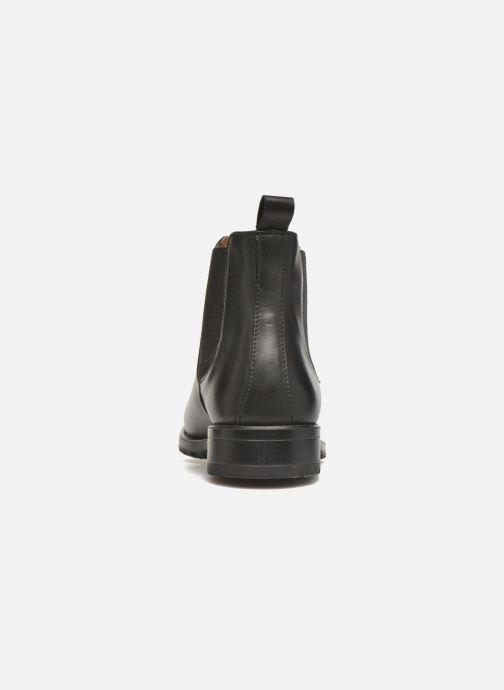 Bottines et boots Marvin&Co Ahsford Noir vue droite