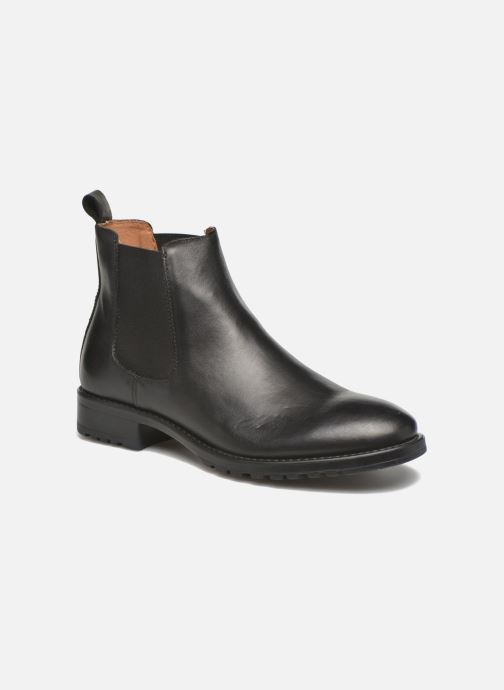 Bottines et boots Marvin&Co Ahsford Noir vue détail/paire