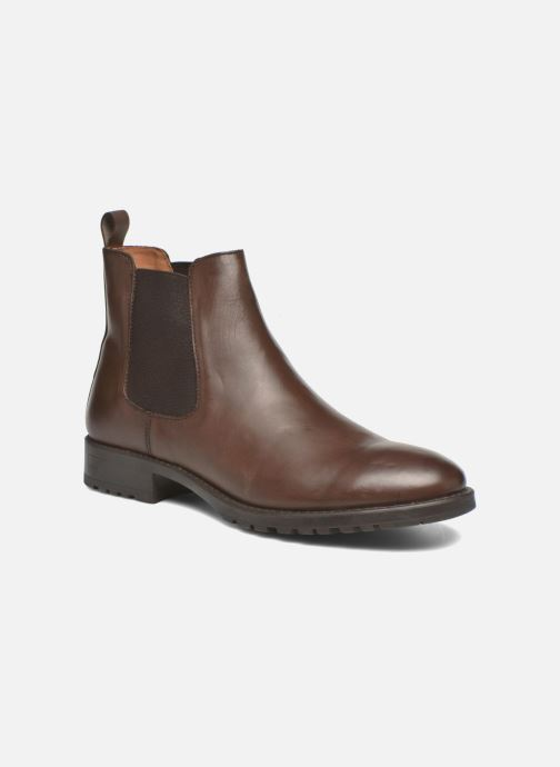 Ankle boots Marvin&co Ahsford Brown detailed view/ Pair view