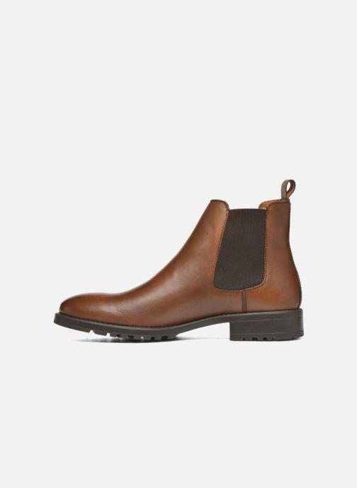 Bottines et boots Marvin&Co Ahsford Marron vue face