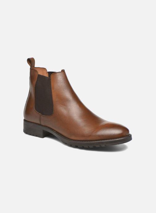Bottines et boots Marvin&Co Ahsford Marron vue détail/paire
