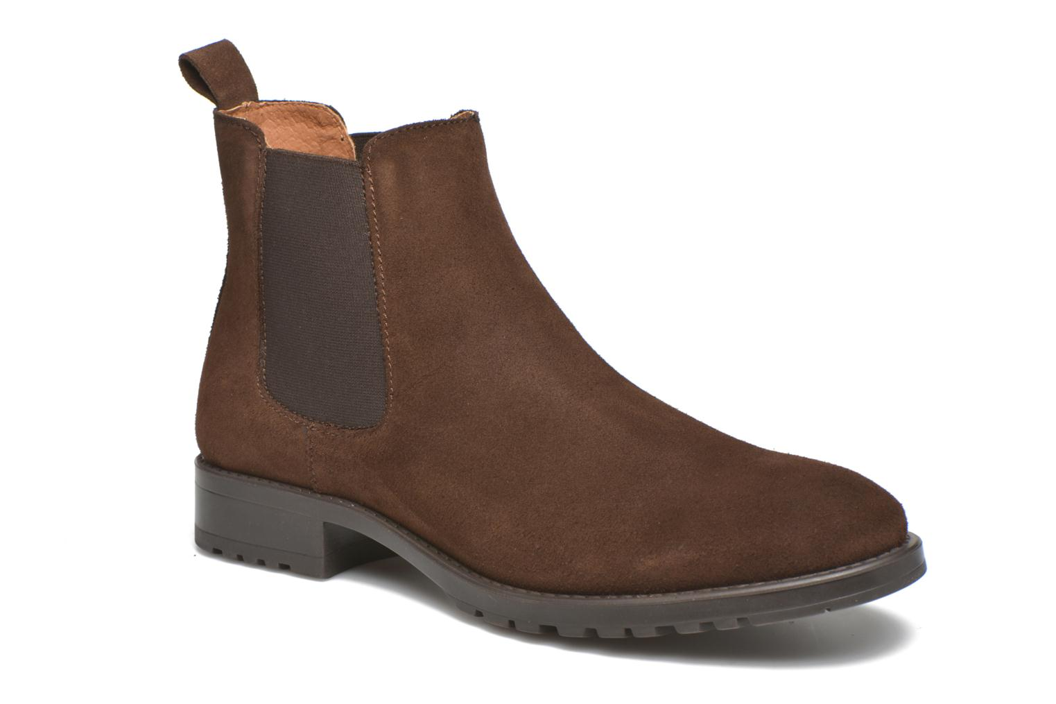 Velour Leather Cam brown