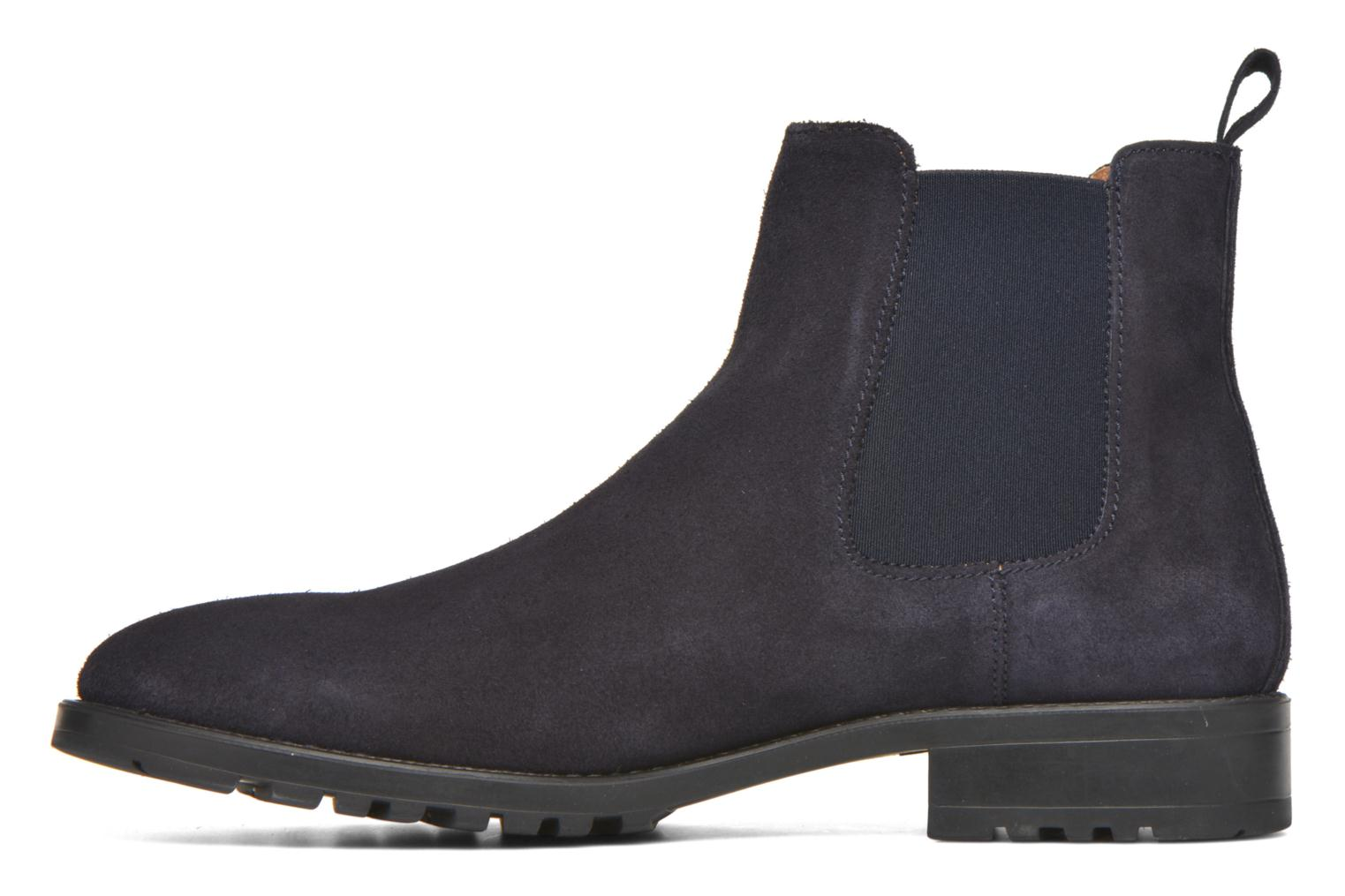 Ankle boots Marvin&co Ahsford Blue front view