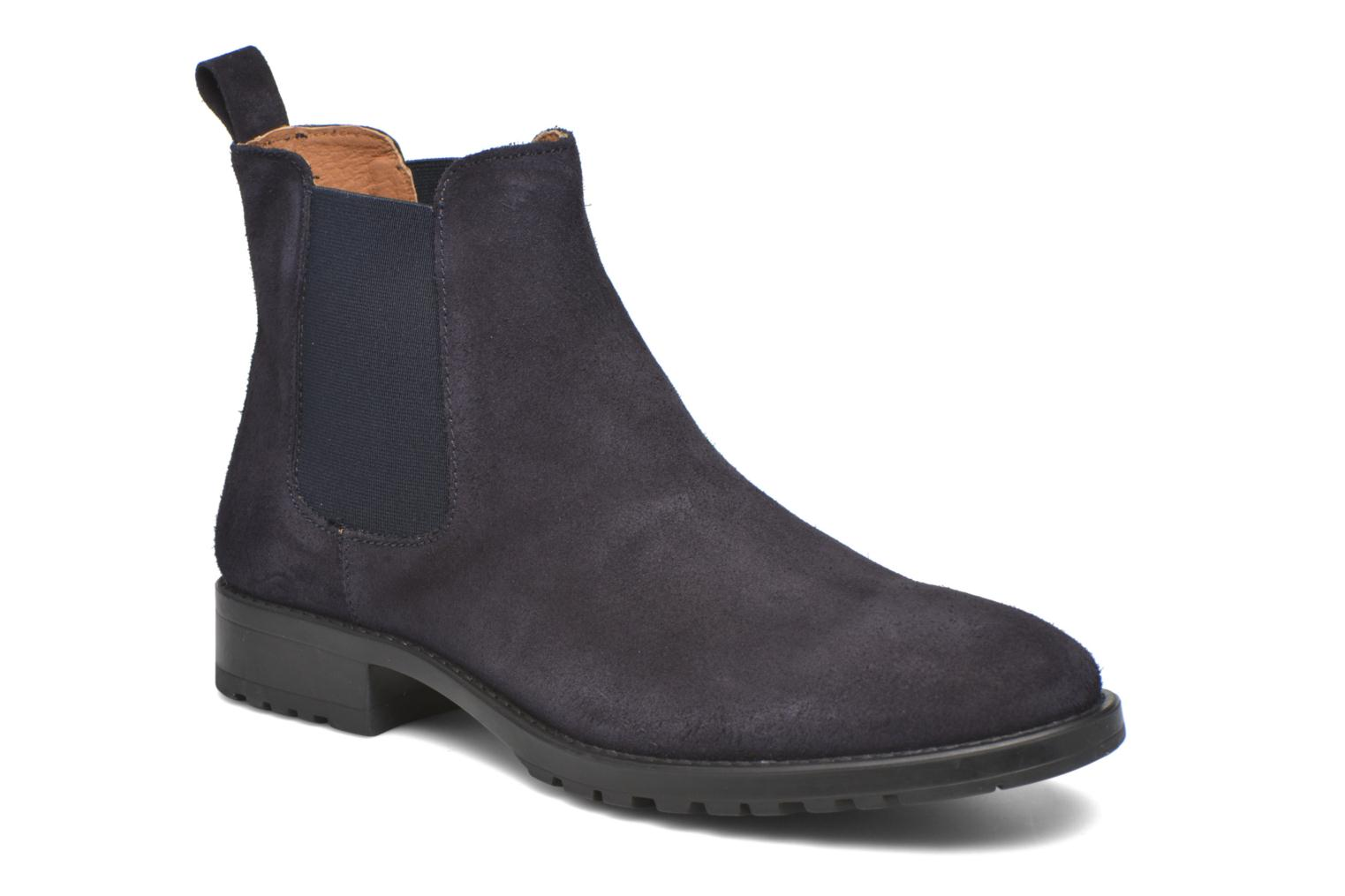 Ankle boots Marvin&co Ahsford Blue detailed view/ Pair view