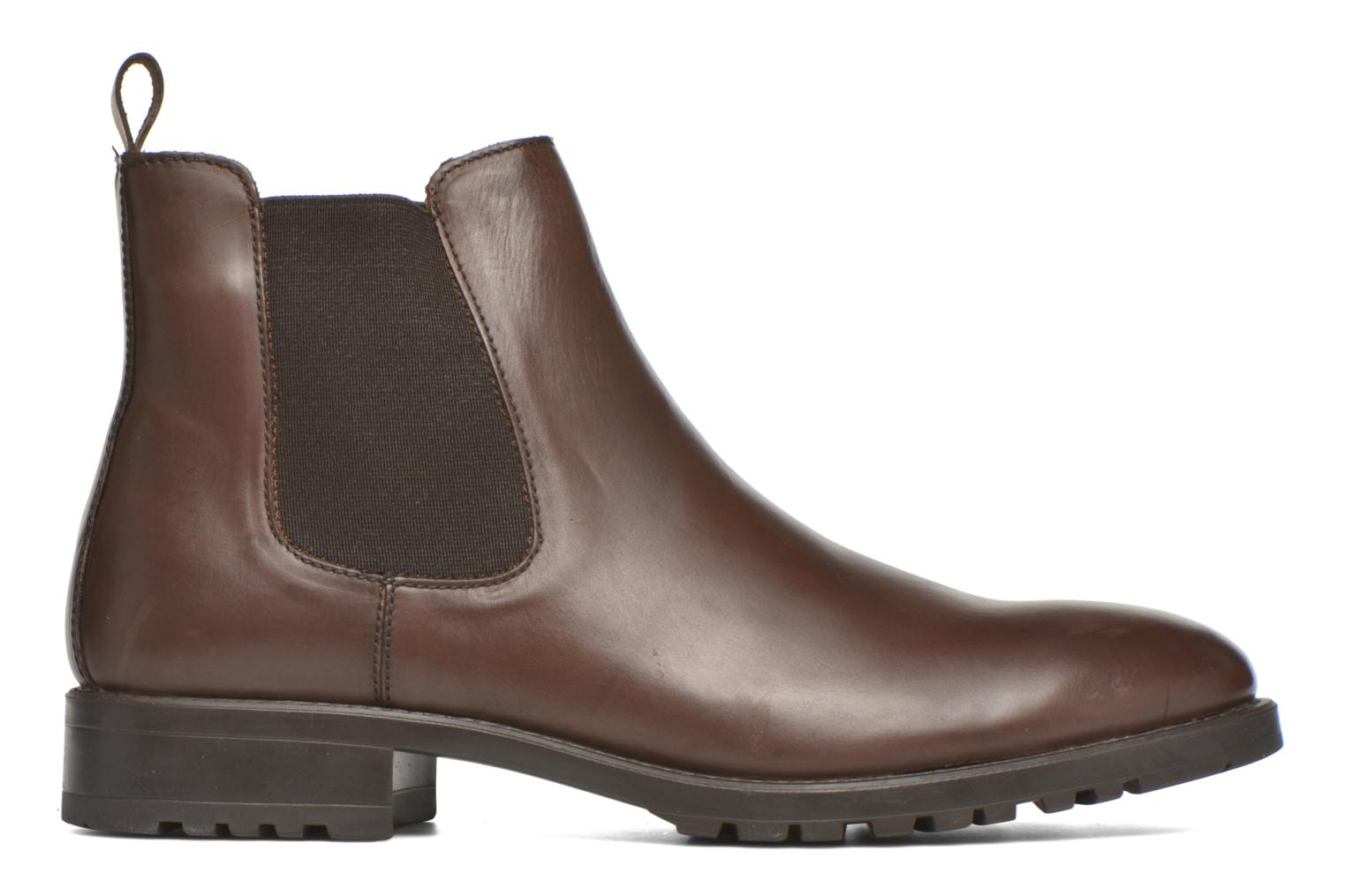 Bottines et boots Marvin&Co Ahsford Marron vue derrière