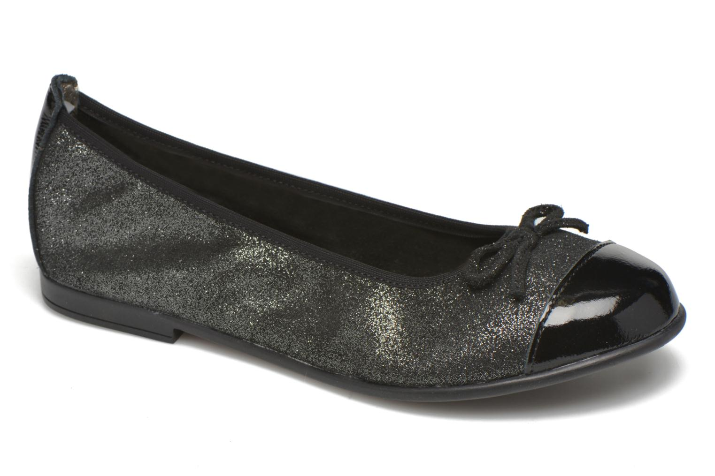 Ballerinaer Bopy Sarinza Sort detaljeret billede af skoene