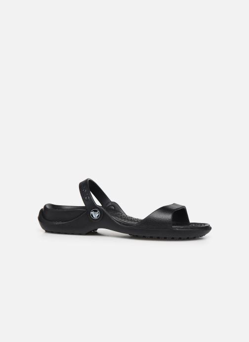 Sandales et nu-pieds Crocs Cleo Noir vue derrière