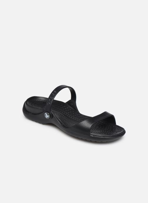 Sandales et nu-pieds Crocs Cleo Noir vue détail/paire