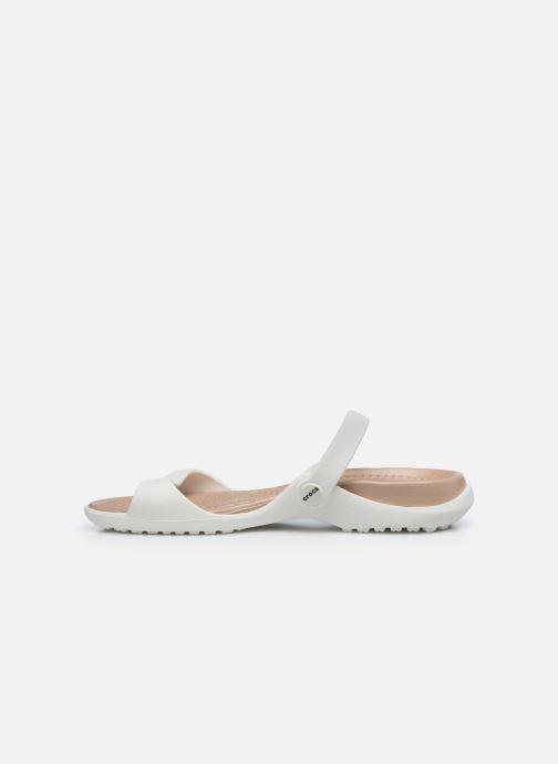 Sandali e scarpe aperte Crocs Cleo Bianco immagine frontale