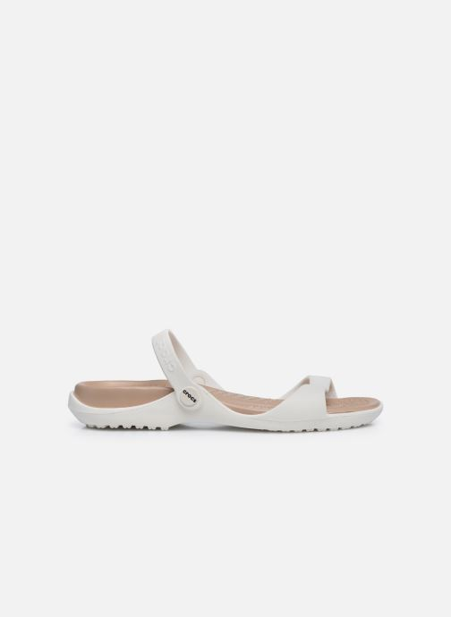 Sandali e scarpe aperte Crocs Cleo Bianco immagine posteriore
