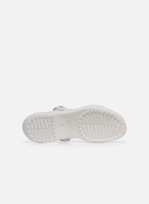 Sandali e scarpe aperte Crocs Cleo Bianco immagine dall'alto