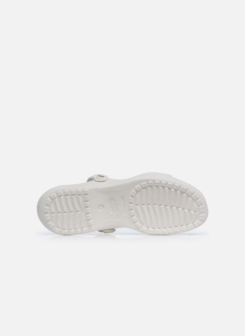 Sandalias Crocs Cleo Blanco vista de arriba