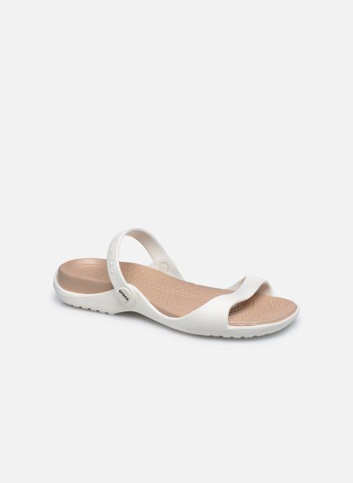 Sandalias Crocs Cleo Blanco vista de detalle / par