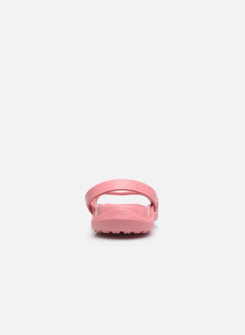 Sandalen Crocs Cleo rosa ansicht von rechts