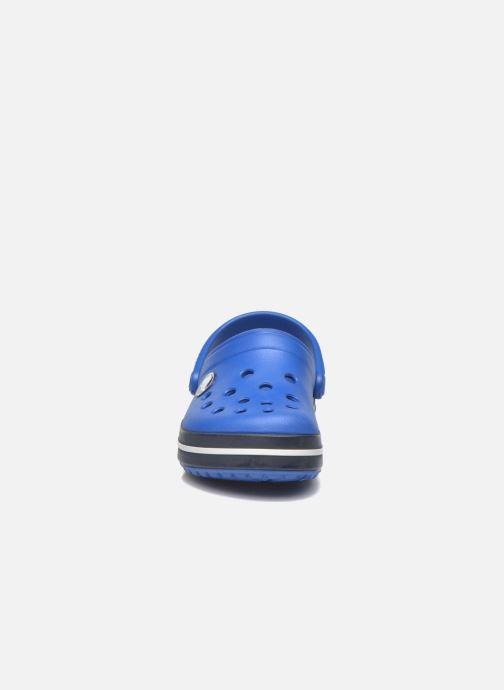 Sandali e scarpe aperte Crocs Crocsband Kids Azzurro modello indossato