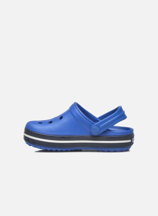 Sandalias Crocs Crocsband Kids Azul vista de frente