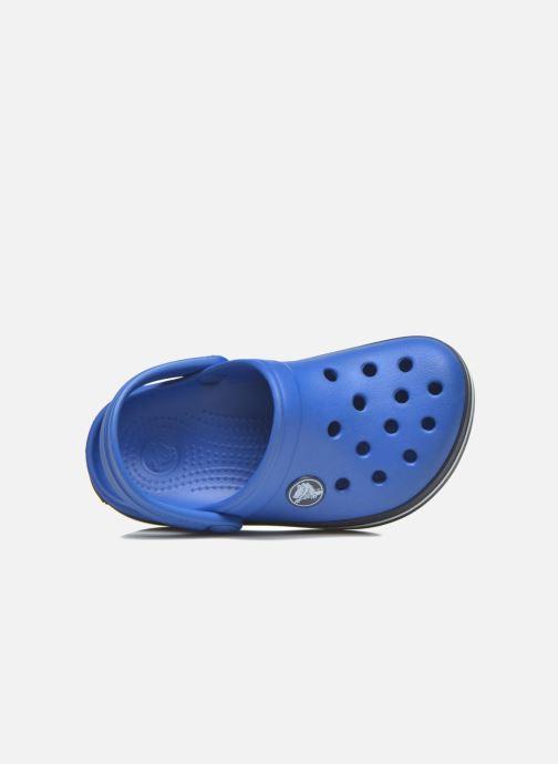 Sandales et nu-pieds Crocs Crocsband Kids Bleu vue gauche