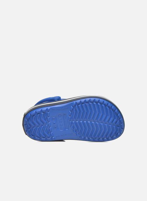 Sandales et nu-pieds Crocs Crocsband Kids Bleu vue haut