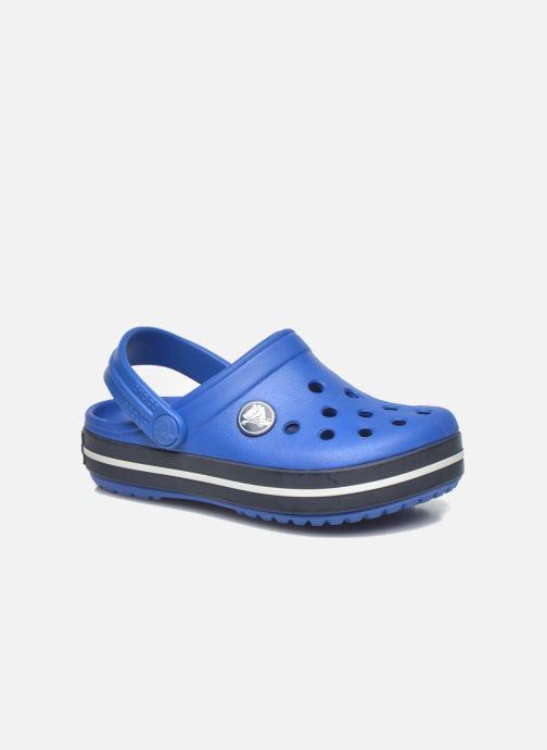 Sandales et nu-pieds Crocs Crocsband Kids Bleu vue détail/paire