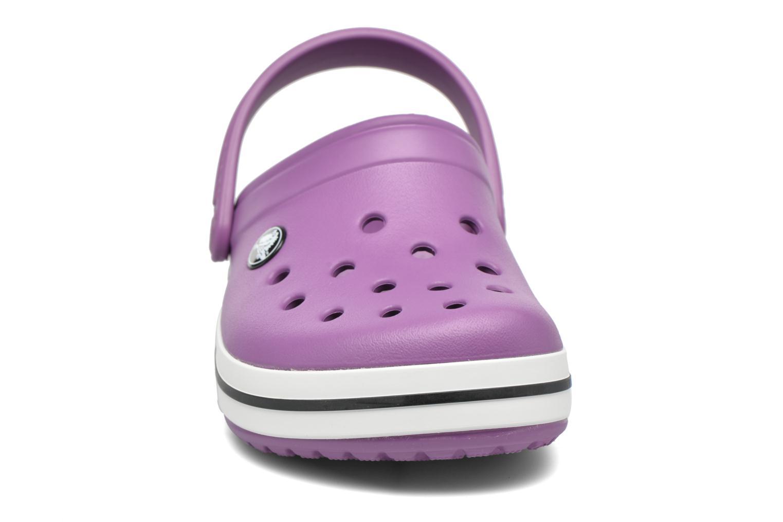Sandales et nu-pieds Crocs Crocsband Kids Violet vue portées chaussures
