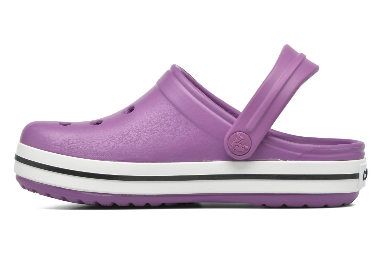 Sandales et nu-pieds Crocs Crocsband Kids Violet vue face