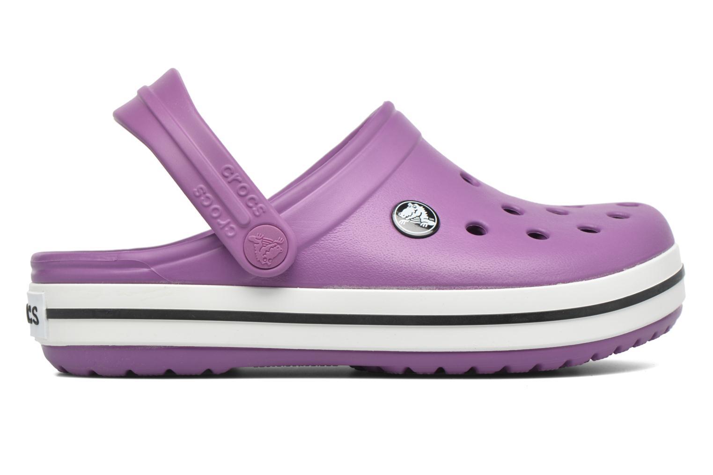 Sandales et nu-pieds Crocs Crocsband Kids Violet vue derrière