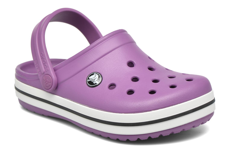 Sandales et nu-pieds Crocs Crocsband Kids Violet vue détail/paire