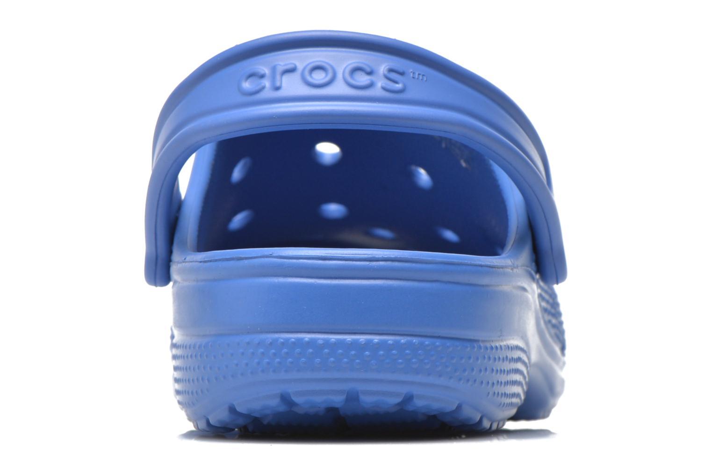 Zuecos Crocs Ralen Clog w Azul vista lateral derecha
