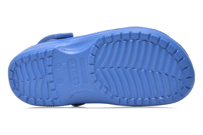 Zuecos Crocs Ralen Clog w Azul vista de arriba