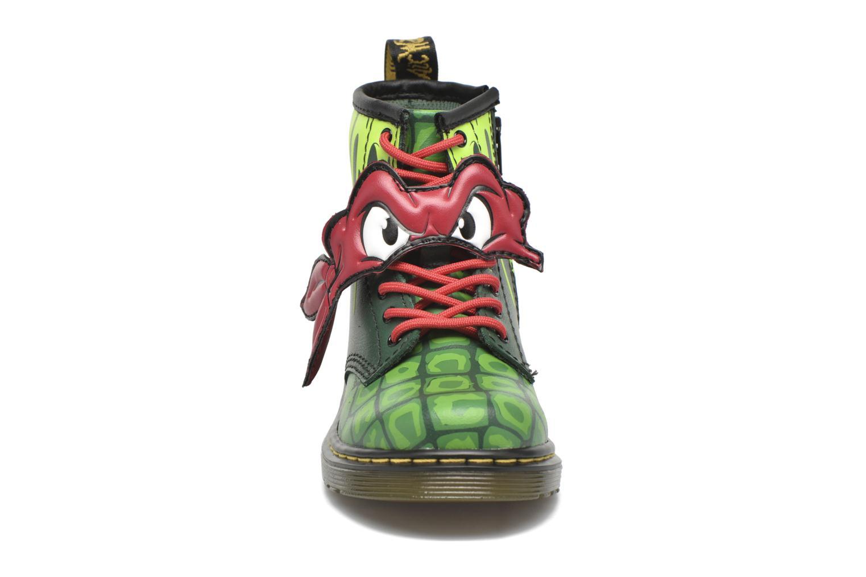 Bottines et boots Dr. Martens Raph Vert vue portées chaussures