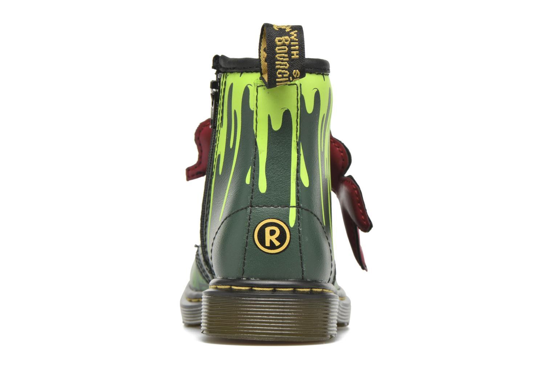 Bottines et boots Dr. Martens Raph Vert vue droite