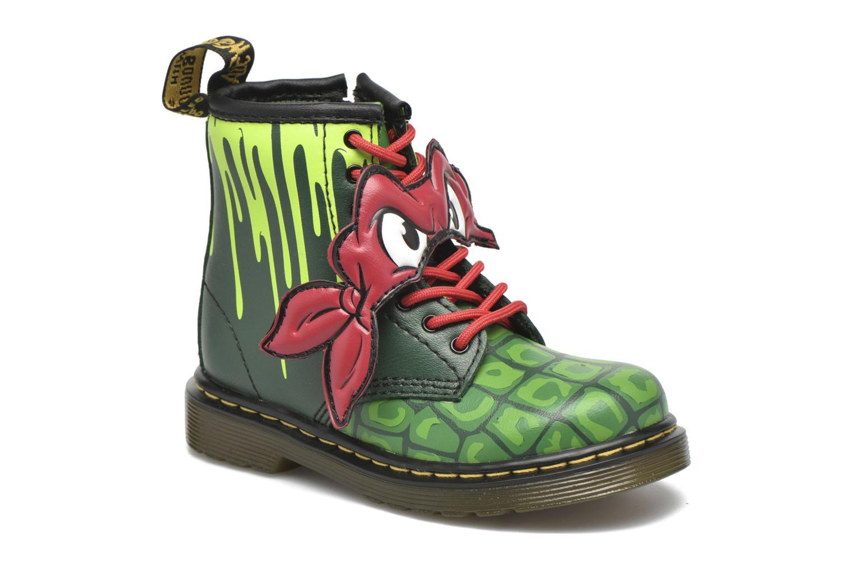 Bottines et boots Dr. Martens Raph Vert vue détail/paire