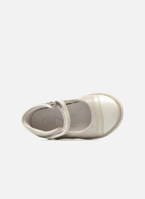 Sandales et nu-pieds Noël Mini Alizé Beige vue gauche