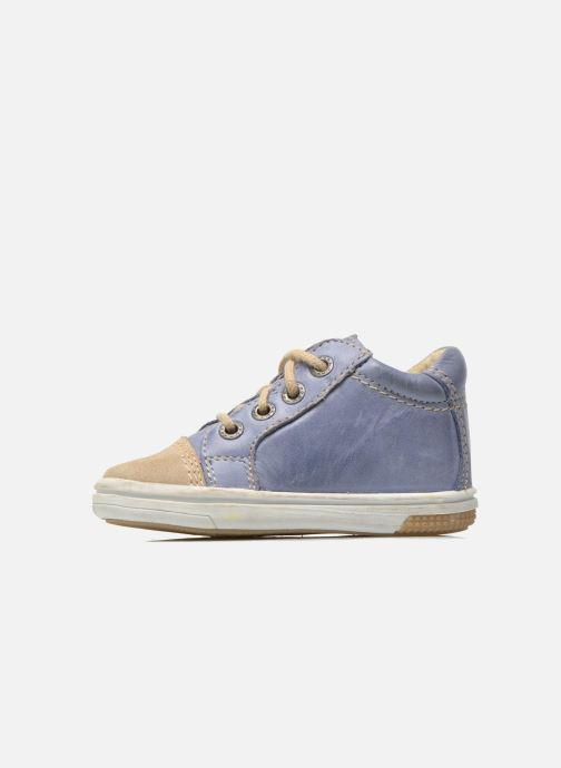 Sneakers Noël Mini Marmo Azzurro immagine frontale