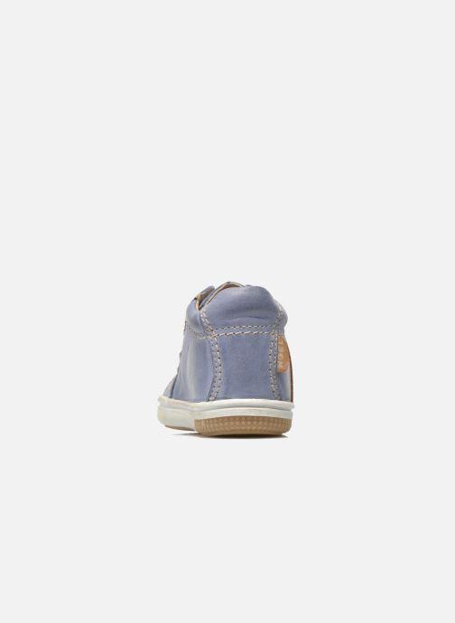 Sneakers Noël Mini Marmo Azzurro immagine destra