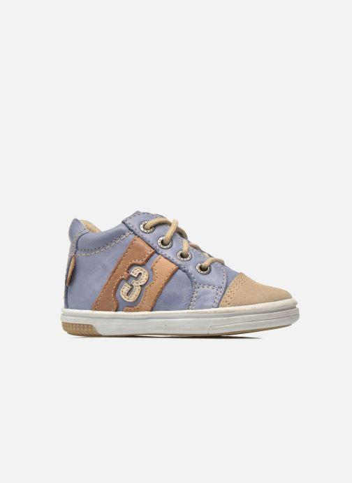 Sneakers Noël Mini Marmo Azzurro immagine posteriore