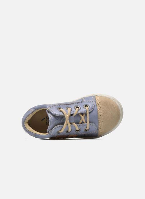 Sneakers Noël Mini Marmo Azzurro immagine sinistra