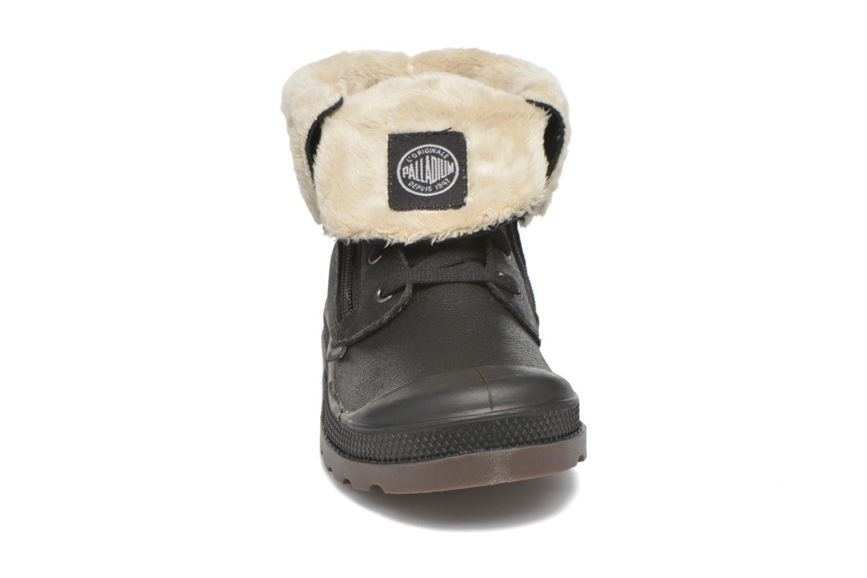 Bottines et boots Palladium BGY L ZIP FS K Noir vue portées chaussures