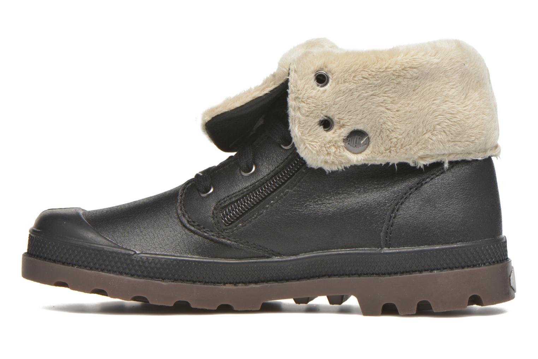 Bottines et boots Palladium BGY L ZIP FS K Noir vue face