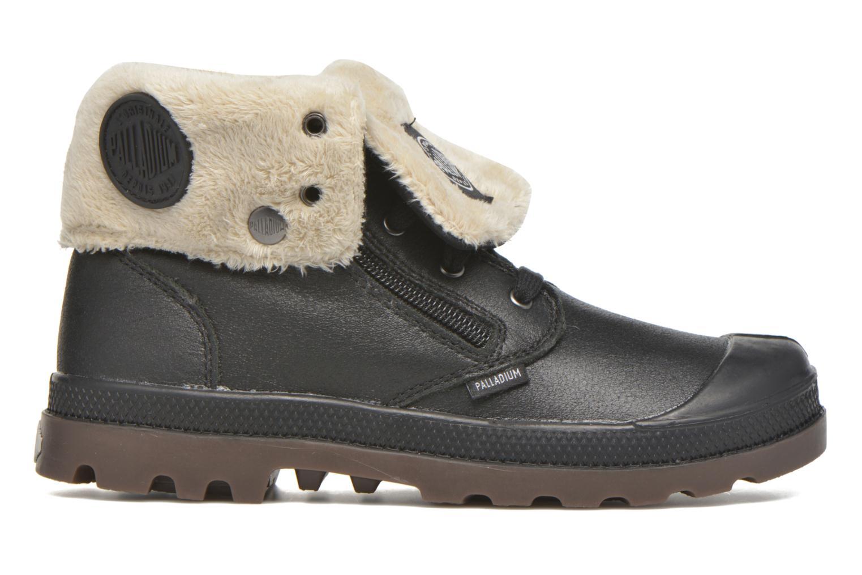 Bottines et boots Palladium BGY L ZIP FS K Noir vue derrière