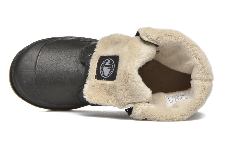 Bottines et boots Palladium BGY L ZIP FS K Noir vue gauche