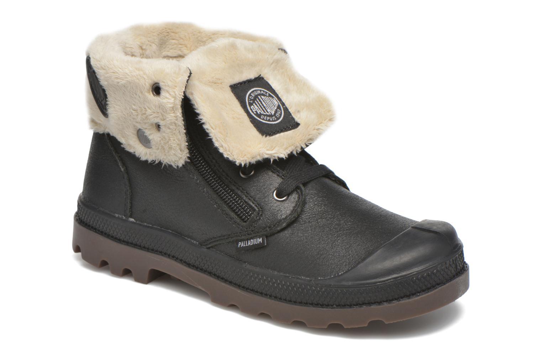 Bottines et boots Palladium BGY L ZIP FS K Noir vue détail/paire