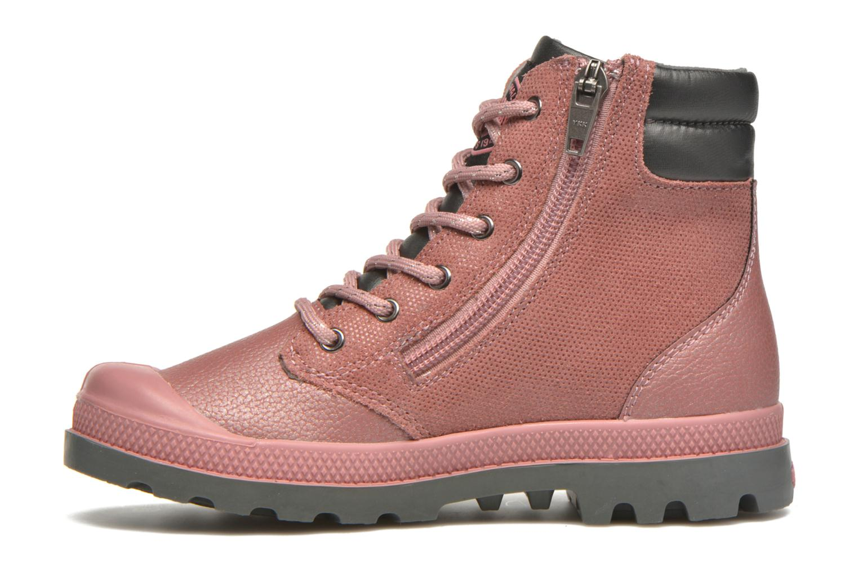 Ankle boots Palladium Wendy FL K Pink front view