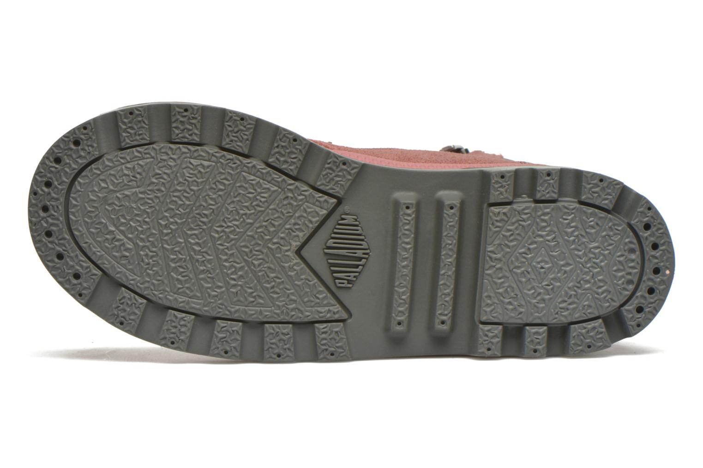 Stiefeletten & Boots Palladium Wendy FL K rosa ansicht von oben