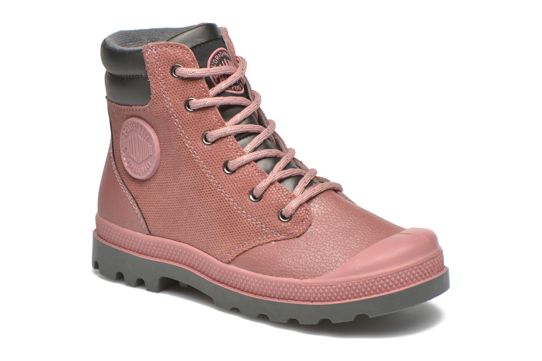 Stiefeletten & Boots Palladium Wendy FL K rosa detaillierte ansicht/modell