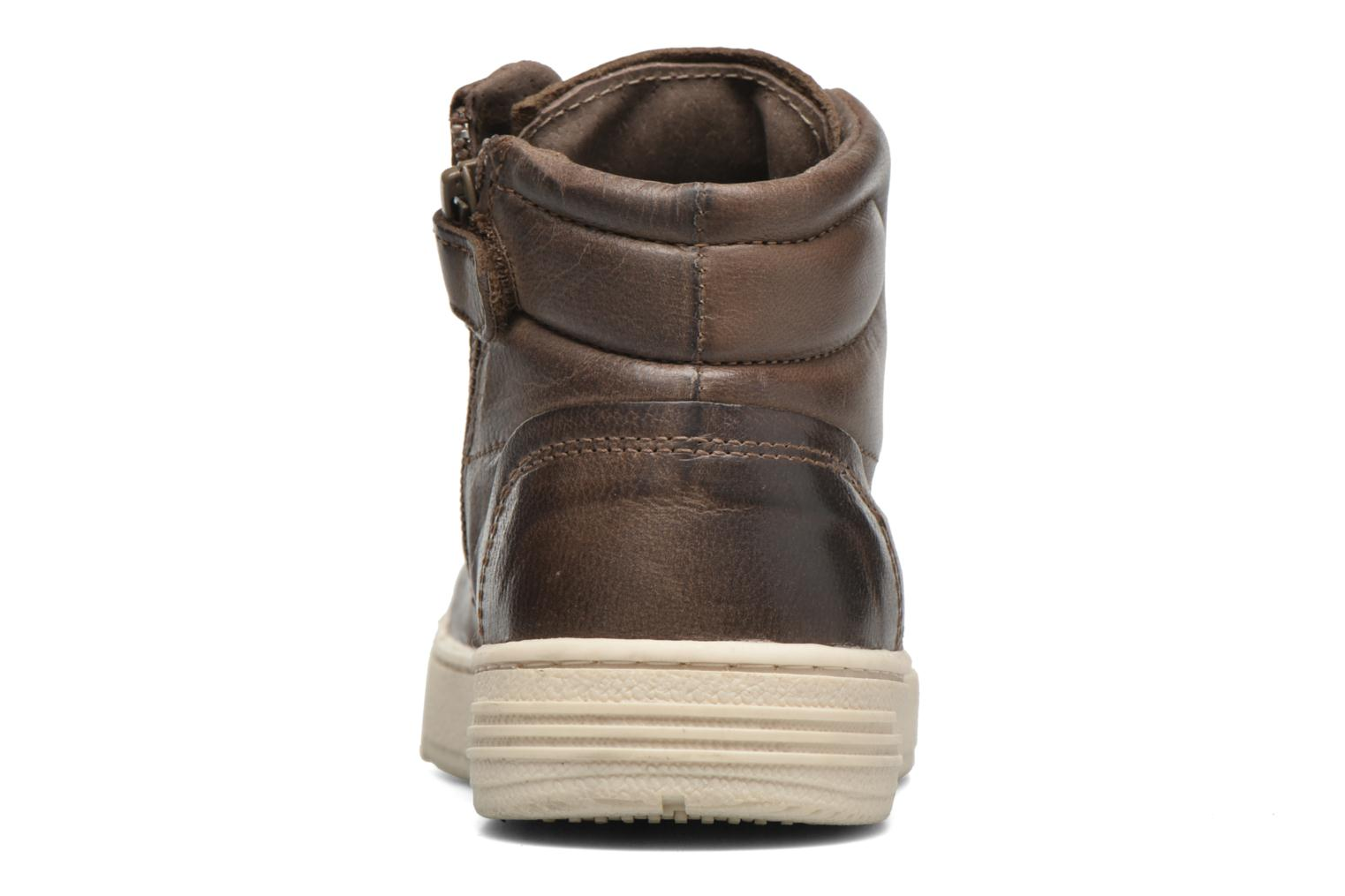 Trainers P-L-D-M By Palladium Galax Brown view from the right